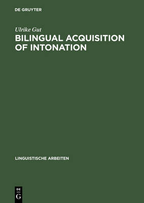 Bilingual Acquisition of Intonation: A Study of Children Speaking German and English