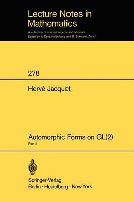 Automorphic Forms on GL (2): Part 2