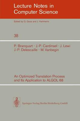 An Optimized Translation Process and Its Application to ALGOL 68