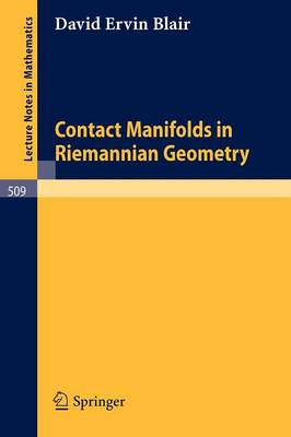Contact Manifolds in Riemannian Geometry