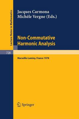 Non-Commutative Harmonic Analysis: Proceedings