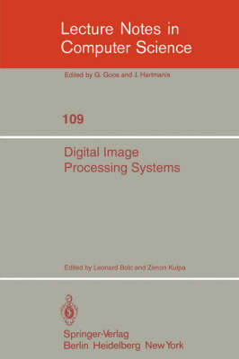 Digital Image Processing Systems: Proceedings