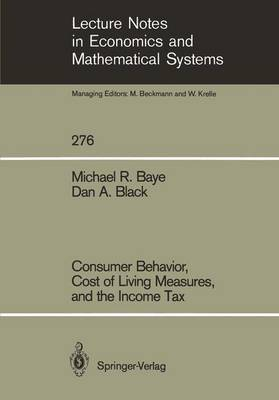 Consumer Behavior, Cost of Living Measures, and the Income Tax