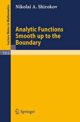 Analytic Functions Smooth up to the Boundary
