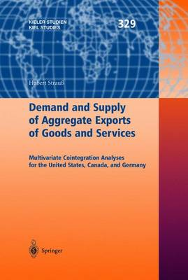 Demand and Supply of Aggregate Exports of Goods and Services: Multivariate Cointegration Analyses for the United States, Canada, and Germany