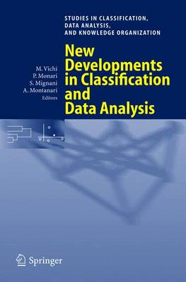 New Developments in Classification and Data Analysis: Proceedings of the Meeting of the Classification and Data Analysis Group (CLADAG) of the Italian Statistical Society, University of Bologna, September 22-24, 2003