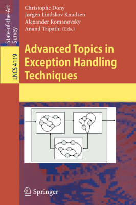 Advanced Topics in Exception Handling Techniques