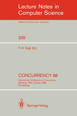 Concurrency 88: International Conference on Concurrency Hamburg, FRG, October 18-19, 1988. Proceedings