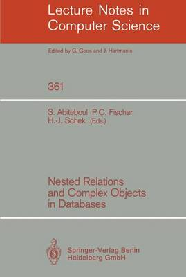 Nested Relations and Complex Objects in Databases