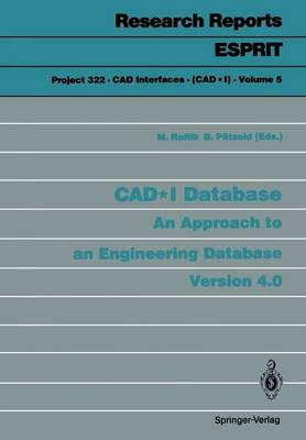 CAD*I Database: An Approach to an Engineering Database Version 4.0