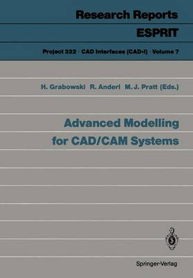 Advanced Modelling for CAD/CAM Systems