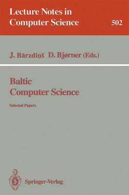 Baltic Computer Science: Selected Papers