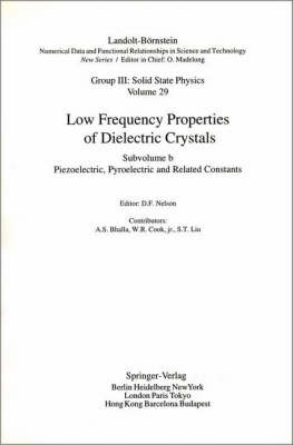 Piezoelectronic, Pyroelectric and Related Constants