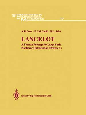 Lancelot: A Fortran Package for Large-Scale Nonlinear Optimization (Release A)