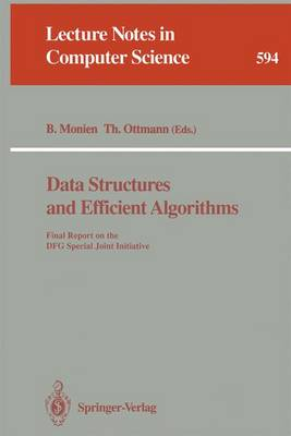Data Structures and Efficient Algorithms: Final Report on the DFG Special Joint Initiative