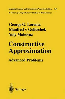 Constructive Approximation: Advanced Problems