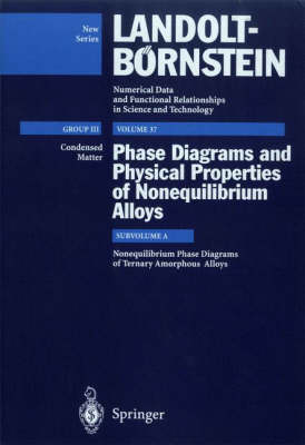 Nonequilibrium Phase Diagrams of Ternary Amorphous Alloys