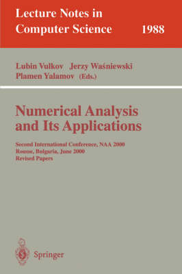 Numerical Analysis and Its Applications: First International Workshop, WNAA'96, Rousse, Bulgaria, June 24-26, 1996 Proceedings