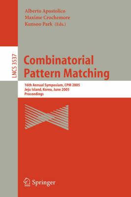 Combinatorial Pattern Matching: 8th Annual Symposium, CPM 97, Aarhus, Denmark, June/July 1997. Proceedings
