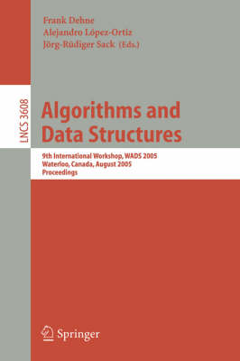 Algorithms and Data Structures: 5th International Workshop, WADS '97, Halifax, Nova Scotia, Canada, August 6-8, 1997. Proceedings