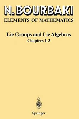 Lie Groups and Lie Algebras: Chapters 1-3