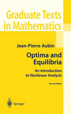 Optima and Equilibria: An Introduction to Nonlinear Analysis