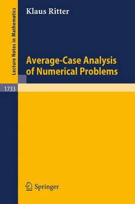 Average-Case Analysis of Numerical Problems