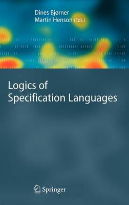 Logics of Specification Languages