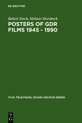 Posters of GDR films 1945 - 1990