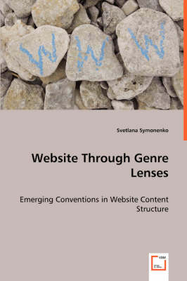 Website Through Genre Lenses - Emerging Conventions in Website Content Structure