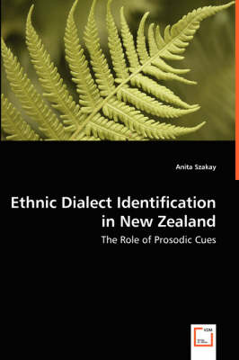 Ethnic Dialect Identification in New Zealand - The Role of Prosodic Cues