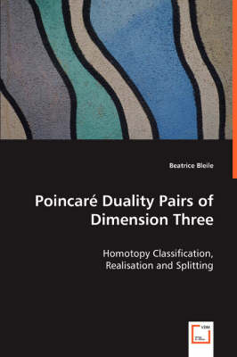 Poincare Duality Pairs of Dimension Three - Homotopy Classification, Realisation and Splitting