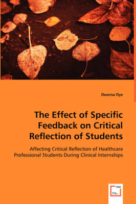 The Effect of Specific Feedback on Critical Reflection of Students
