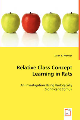 Relative Class Concept Learning in Rats