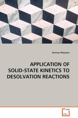 Application of Solid-State Kinetics to Desolvation Reactions
