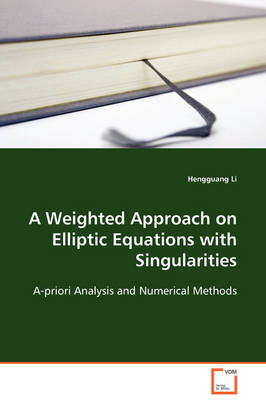 A Weighted Approach on Elliptic Equations with Singularities