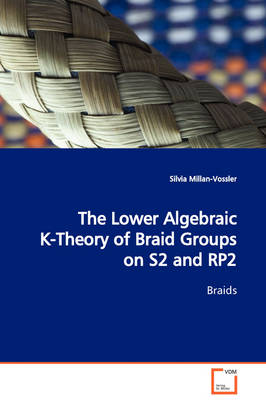The Lower Algebraic K-Theory of Braid Groups on S2 and Rp2 Braids