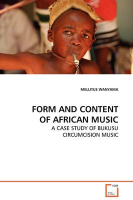 Form and Content of African Music