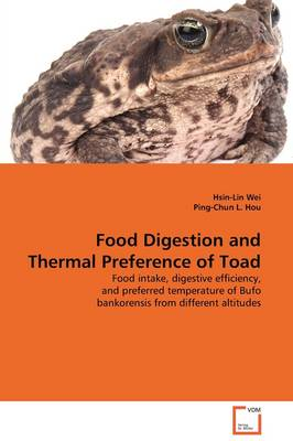 Food Digestion and Thermal Preference of Toad