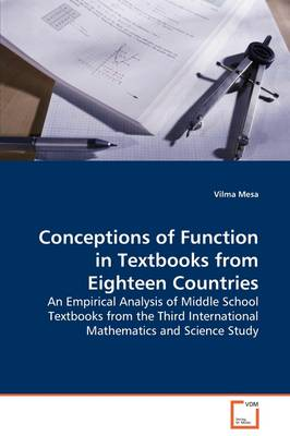 Conceptions of Function in Textbooks from Eighteen Countries