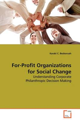 For-Profit Organizations for Social Change
