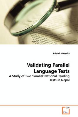 Validating Parallel Language Tests