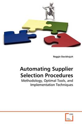 Automating Supplier Selection Procedures