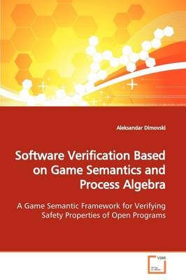 Software Verification Based on Game Semantics and Process Algebra