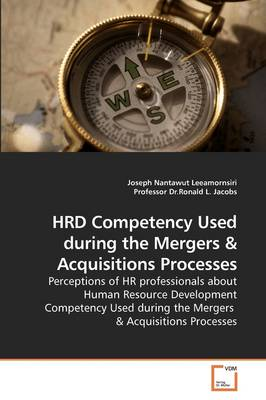 Hrd Competency Used During the Mergers
