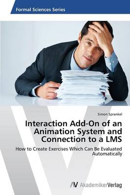 Interaction Add-On of an Animation System and Connection to a Lms