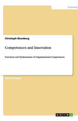 Competences and Innovation