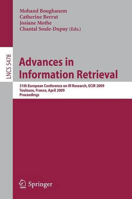 Advances in Information Retrieval: 31th European Conference on IR Research, ECIR 2009, Toulouse, France, April 6-9, 2009, Proceedings