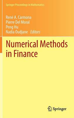 Numerical Methods in Finance: Bordeaux, June 2010