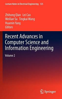 Recent Advances in Computer Science and Information Engineering: Volume 2